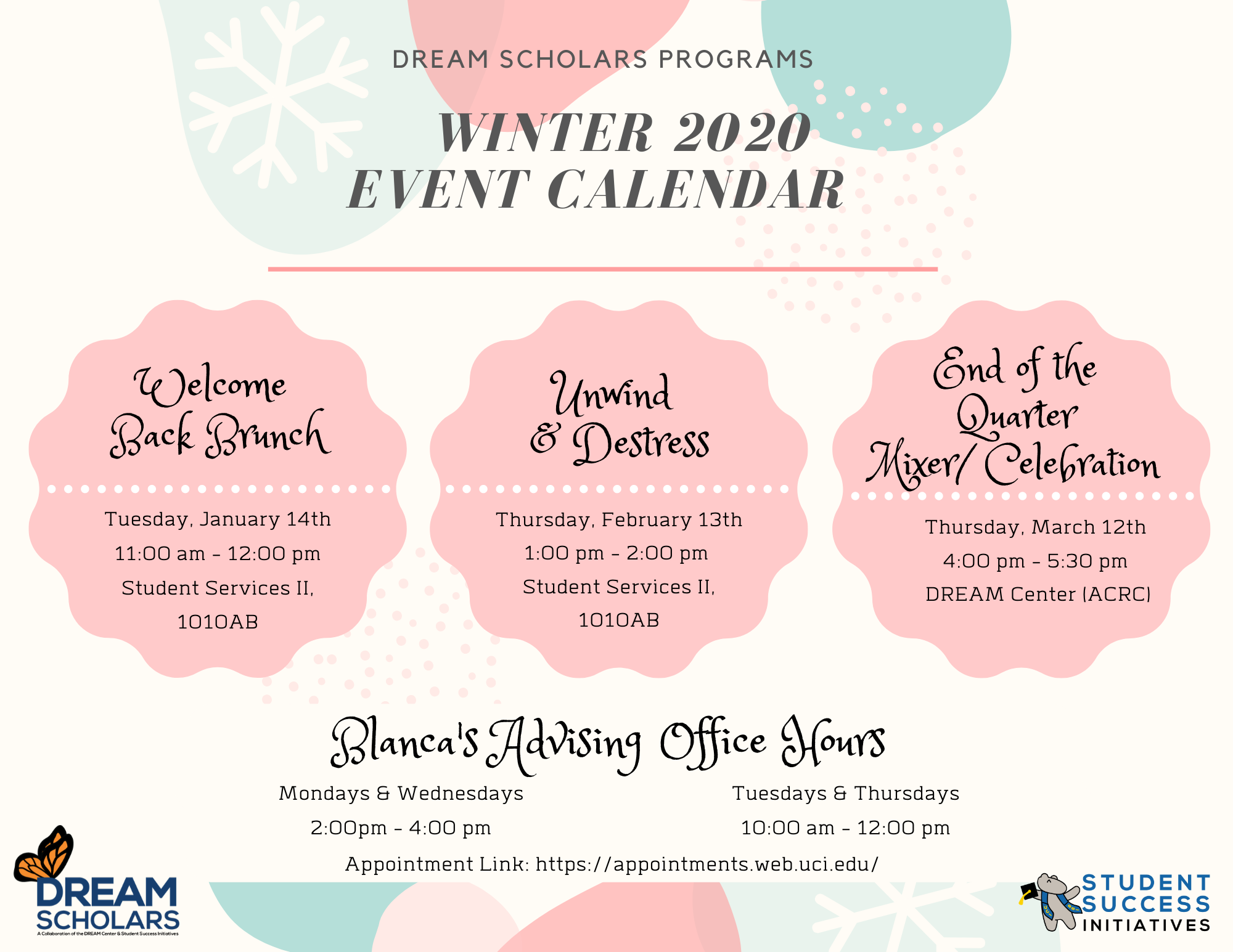 Winter 2020 Events